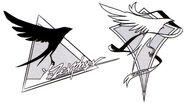 Zephyr Emblem Initial Design - Concept Art (Sen)