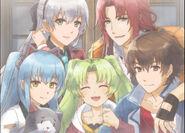 Ending 10 Visual (Hajimari)