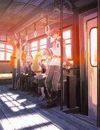 Homeward - Game Arc, Takarajima, Papyrus Jigsaw Puzzle (Official Artwork)