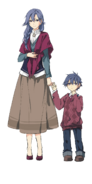 Rean Schwarzer - With His Mother 1 (Sen III)