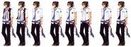 Gaius Worzel Uniform Variations - Concept Art (Sen)