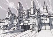 Garrelia Fortress Sketch - Concept Art (Sen)