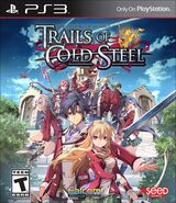Trails of Cold Steel (US boxart)