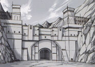 Zender Gate Sketch - Concept Art (Sen)