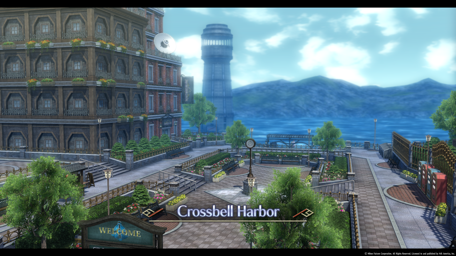 Crossbell City/Harbor District