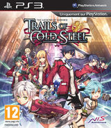 Trails of Cold Steel (France boxart)