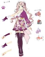Nadia Rayne Alt outfit (Hajimari)