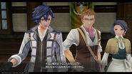 Rean Schwarzer - Promotional Screenshot 1 (Hajimari)