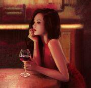 """""""Red Wine"""" por Mandy Jurgens.jpg"""