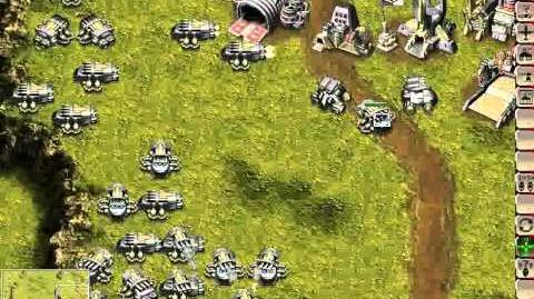 KKND2 solo 3 vs 5 hard map 4