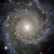 PESSTO Snaps Supernova in Messier 74