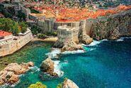 Intrepid Travel-croatia dubrovnik castle-fortress-sea ss-130815833-2