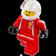 Kierowca wyścigowy Ferrari 75908