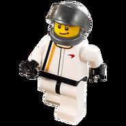 Kierowca wyścigowy McLarena 75909