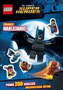 Lego super heroes dc comics zadanie naklejanie