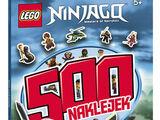 LEGO Ninjago 500 naklejek