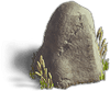 Rock-Extended stone