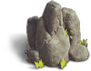 Rock-Sharp stones