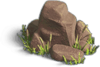 Rock-Red stones