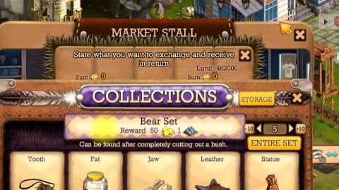 Klondike market stall