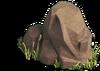 Rock-Red boulder