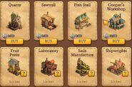 Forgotten Bay Market-Factories