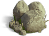 Rock-Pile of boulders