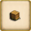 Box with Flax (Item)