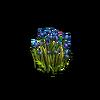 Grass-Blue tulips 1