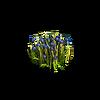 Grass-Blue tulips 2