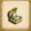 Ostrich Egg Basket (Item)