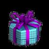 Turquoise giftbox