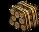 Large bundle of logs