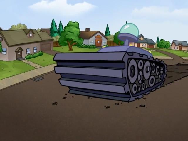 Mr. Wink and Mr. Fibb's Tank
