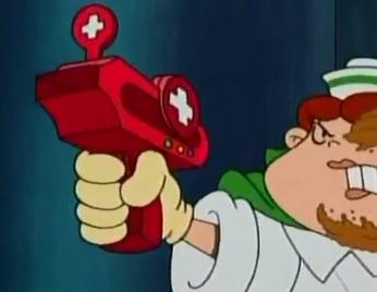 Band Aid Gun