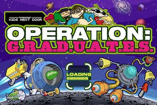 Operation: G.R.A.D.U.A.T.E.S. (Cartoon Network Game)