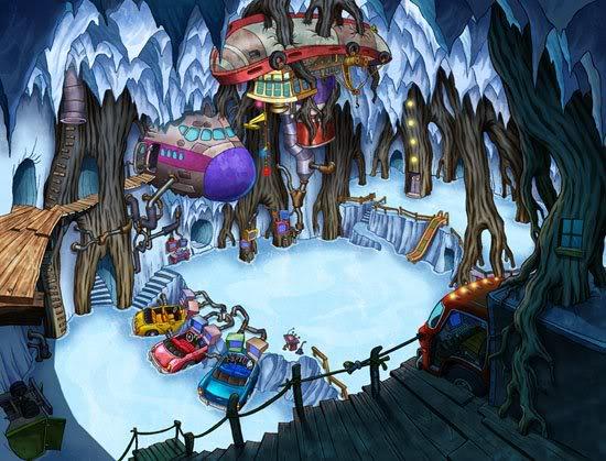 Kids Next Door Arctic Base