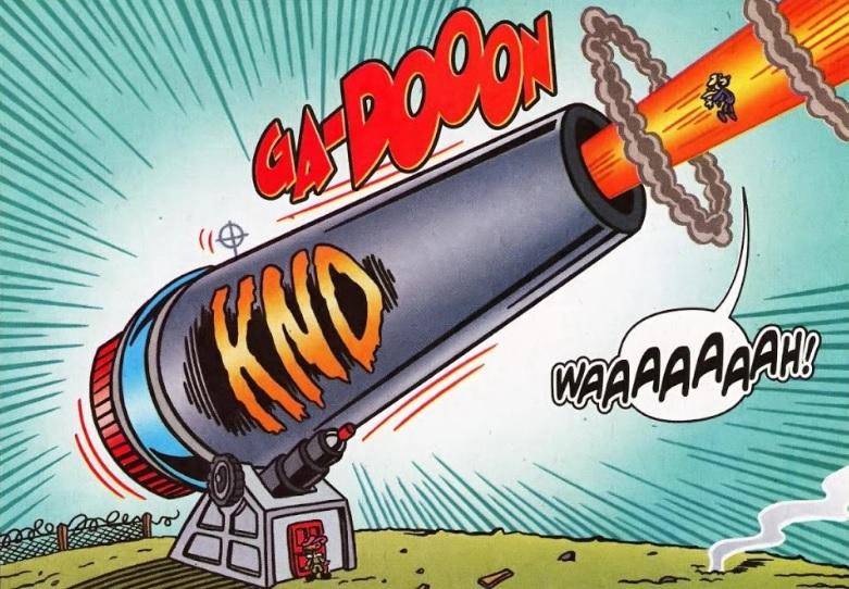 Intercontinental Clam Cannon