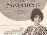 Woman's Day February 1963 Round-the-World Sweaters