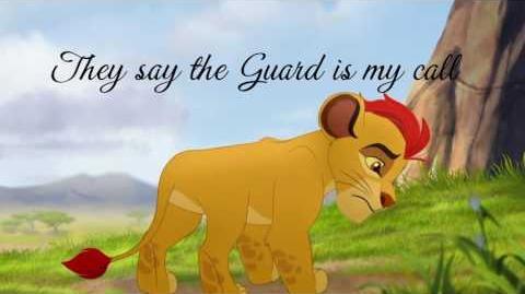 The Lion Guard It Is Time Lyrics