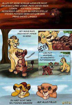 König der löwen nackt comic