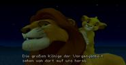 Simba und sein Vater Mufasa KHII