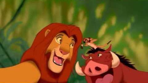 Hakuna Matata - Disneys Der König Der Löwen