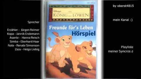 König der Löwen Freunde für's Leben Hörspiel