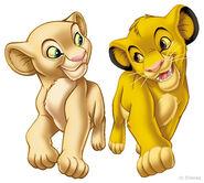 Nala und ihr bester Freund Simba
