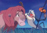Simba und Rafiki