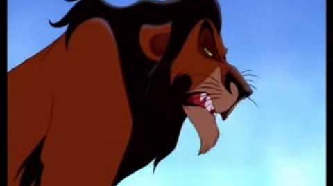 The Lion King - Simba & Scar (German)