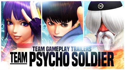 THE KING OF FIGHTERS XIV Team Psycho Soldier Trailer EU