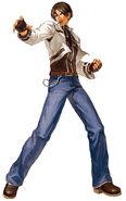 NeoGeo-Battle-Coliseum-Game-Character-Official-Artwork-Kyo-Kusanagi