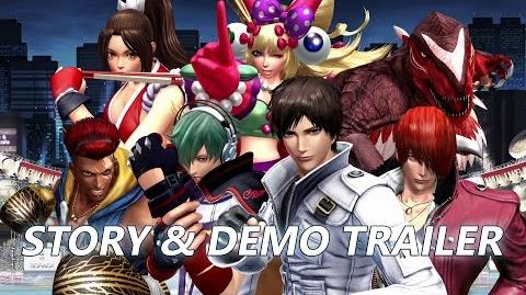 THE KING OF FIGHTERS XIV Story & Demo Trailer ES